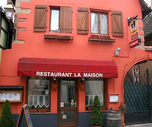 restaurant la maison comme 224 la winstub du passeport gourmand alsace