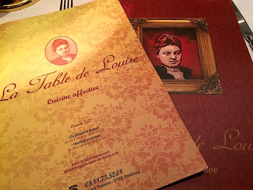 La table de louise cuisine tradition blog du passeport gourmand alsace - La table de louise strasbourg ...